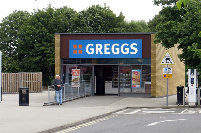 Greggs at Cherwell Valley Services