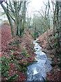 SD9927 : Ibbot Royd Clough from Hirst Bridge by Humphrey Bolton
