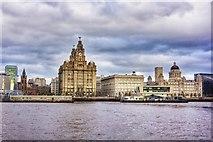 SJ3390 : Liverpool Waterfront by Paul Buckingham
