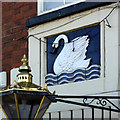 SK4958 : The White Swan, Sutton-in-Ashfield by Alan Murray-Rust