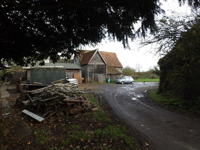 Church Farm & footpath