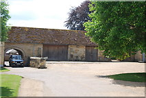 TQ5243 : Outbuilding, Penshurst Place by N Chadwick