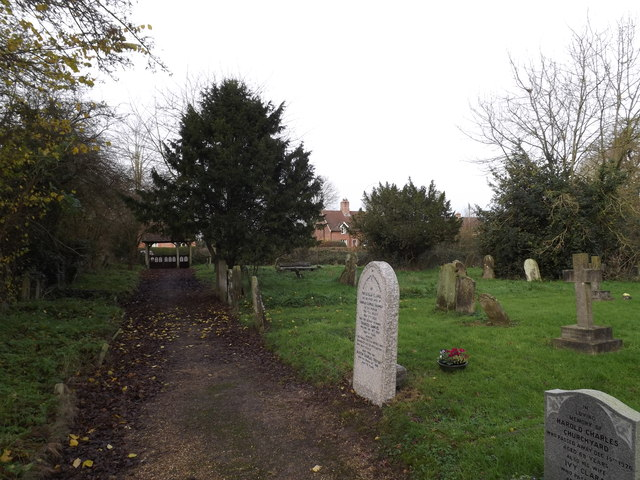 St.Margaret's Churchyard & Path
