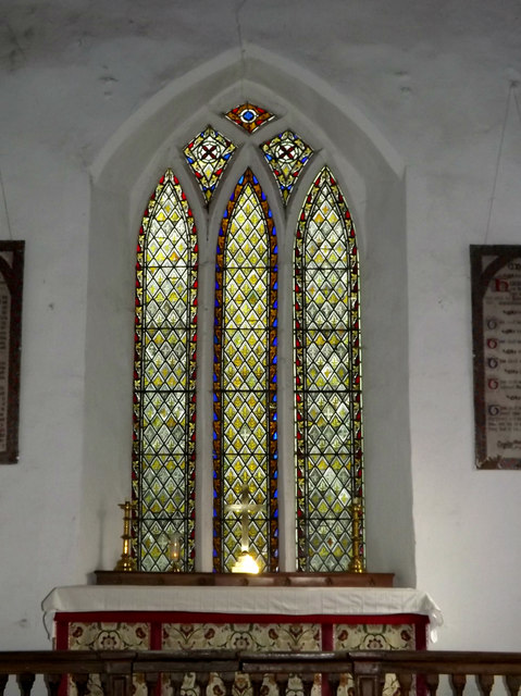 Stained Glass Window of St.Margaret's Church