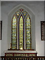TM3485 : Stained Glass Window of St.Margaret's Church by Adrian Cable