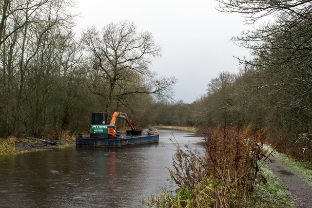 Dredging the Union Canal