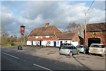 TQ7048 : The Woolpack Inn, Benover by Robin Webster