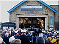 TA0488 : Ceremony at Scarborough Lifeboat Station by Christopher Hall