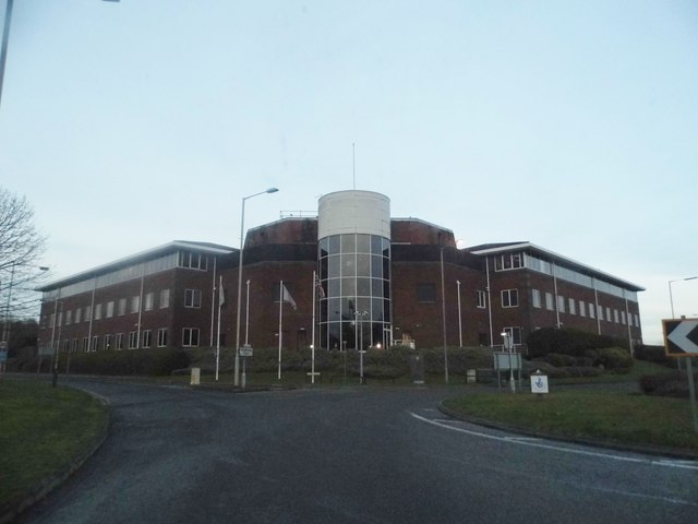 Office block on Tolpits Lane, Holywell