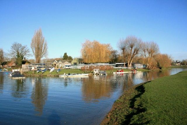 Rowing Club at Wolvercote