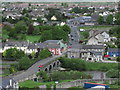 S5056 : Kilkenny - View from Round Tower towards Greens Bridge over R Nore (close up) by Colin Park