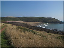 SS0597 : Manorbier Bay by Matthew Chadwick
