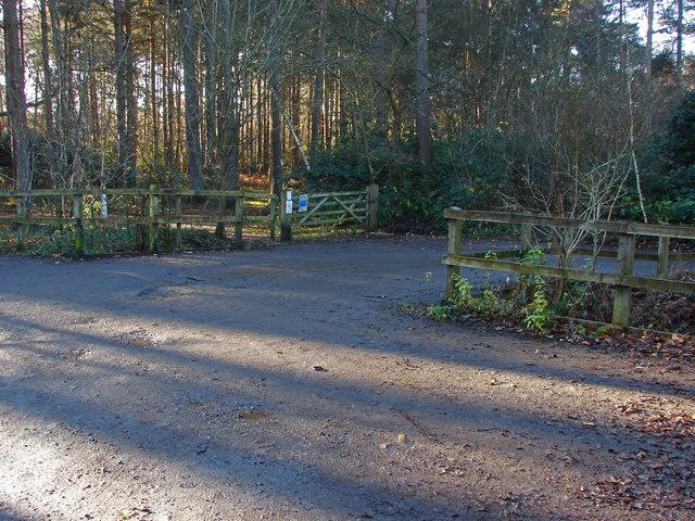 Heath Lake car park