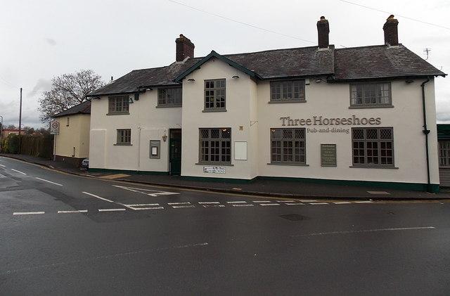 Three Horseshoes pub & dining, Malpas, Newport