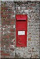 TG0507 : Victorian postbox, Wood Farm by N Chadwick