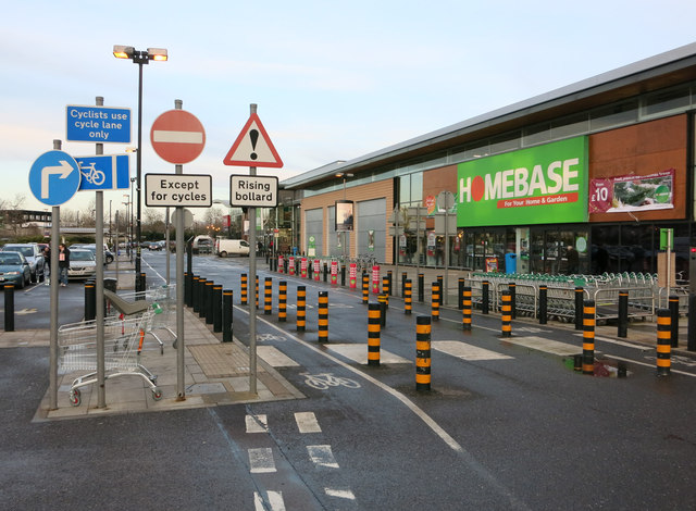Homebase, Cambridge Retail Park