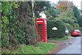TG0507 : Telephone Kiosk, Runhall by N Chadwick