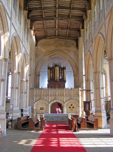 Interior of Holy Trinity Church - 2