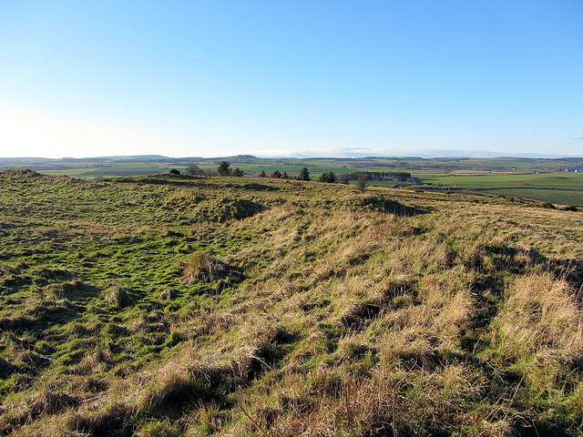 Iron Age Hillfort, Spindlestone Heughs