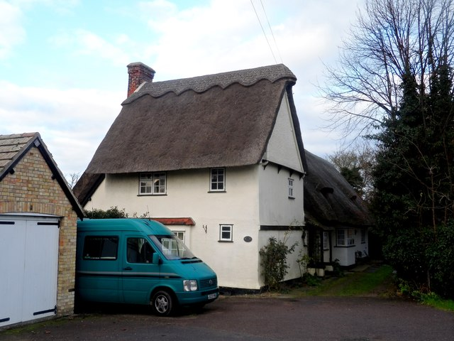 Seventeenth century cottage, Litlington