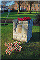 NS2909 : Maybole's New Memorial Cairn by Mary and Angus Hogg