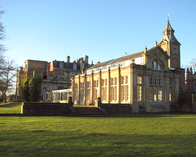 Bylaugh Hall from the south-east