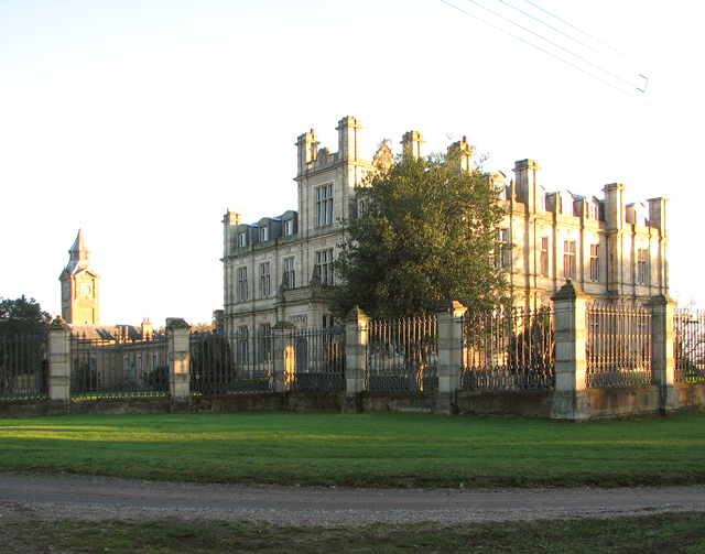Bylaugh Hall from the north-west
