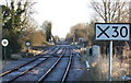 TA0558 : Railway heading north east from Nafferton Railway Station by JThomas