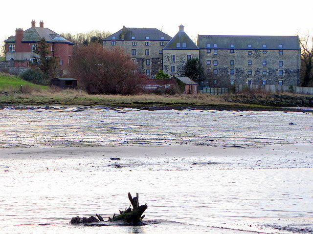 Waren Mill from Budle Bay © Andrew Curtis :: Geograph