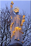 SK5803 : Leicester's Statue of Liberty by Mat Fascione