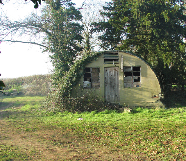 Asbestos hut from WW2