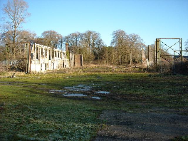 Hangar at north east corner of former RAF Yatesbury air base