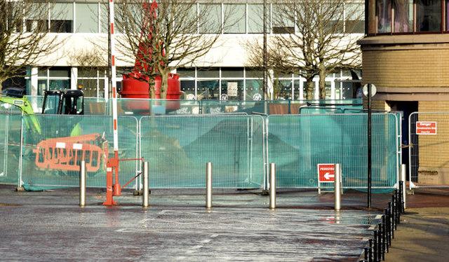 Donegall Quay, Belfast (December 2014)