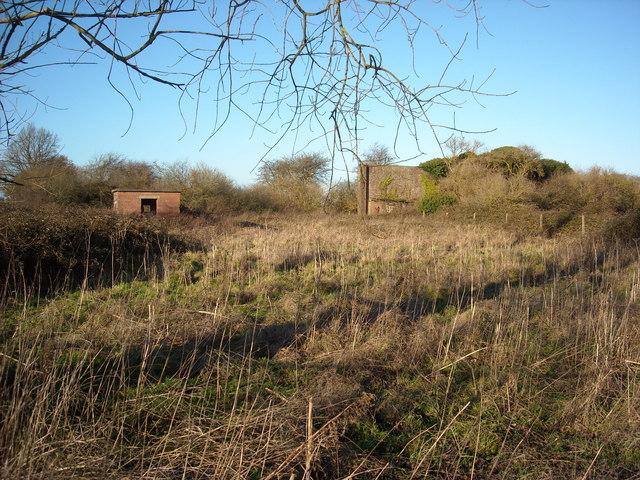 Armoury and firing range, former RAF Yatesbury air base