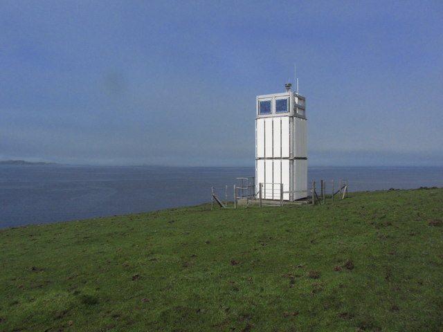 Lighthouse at Cailleach Head