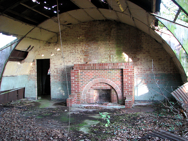 The Social Club (fireplace)