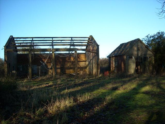 Motor Transport shed and ambulance shed, former RAF Yatesbury air base