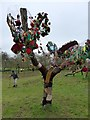 SS9700 : A tree decorated with wool at Killerton by David Smith