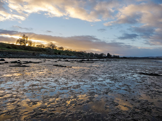 Mudflats of the RSPB Udale Bay Reserve