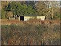 SU9255 : Field and barn near Stoney Castle by Alan Hunt