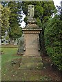 NS4076 : Gravestone of John Ure by Lairich Rig