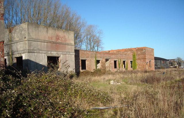 Operations block at former RAF Yatesbury air base