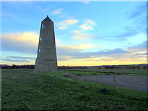 NU1433 : Outchester or Spindlestone Ducket by Andrew Curtis