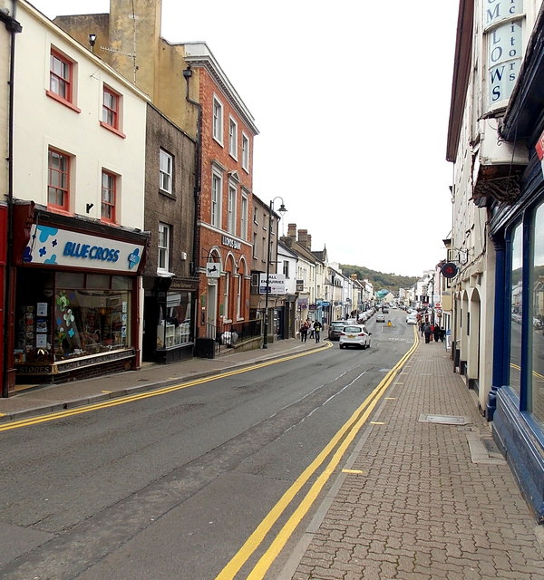 No parking at the NE end of Monnow Street, Monmouth