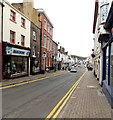 SO5012 : No parking at the NE end of Monnow Street, Monmouth by Jaggery
