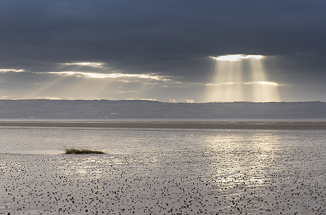 View over the Dee estuary