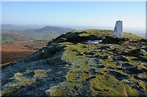 SO2718 : View to the east from the summit of Sugar Loaf by Philip Halling