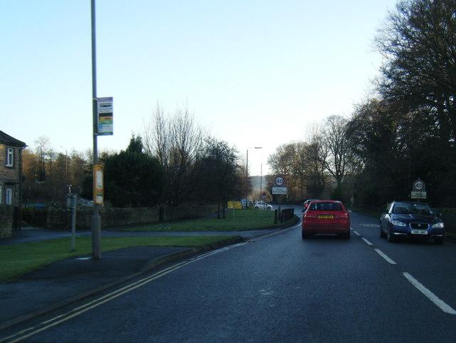 A6 Haddon Road near Burton Close Drive