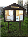 TM3969 : Yoxford Village Notice Board by Adrian Cable