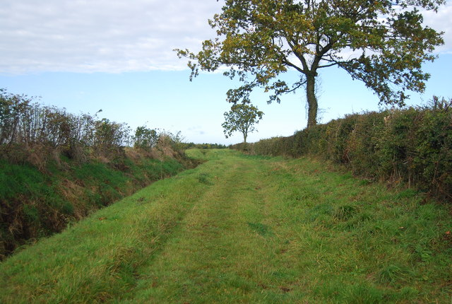 Footpath west of Runhall